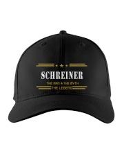 SCHREINER Embroidered Hat front
