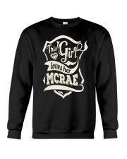 MCRAE with love Crewneck Sweatshirt thumbnail