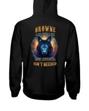 BROWNE Rule Hooded Sweatshirt back