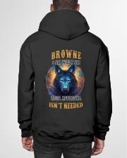 BROWNE Rule Hooded Sweatshirt garment-hooded-sweatshirt-back-01