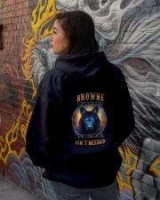 BROWNE Rule Hooded Sweatshirt lifestyle-unisex-hoodie-back-1