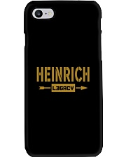 Heinrich Legacy Phone Case tile