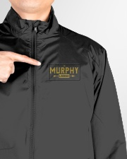 Murphy Legend Lightweight Jacket garment-lightweight-jacket-detail-front-logo-01