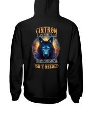 CINTRON Rule Hooded Sweatshirt back