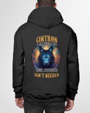 CINTRON Rule Hooded Sweatshirt garment-hooded-sweatshirt-back-01