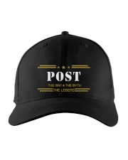 POST Embroidered Hat front