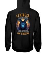 STRINGER Rule Hooded Sweatshirt back