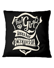 ECHEVERRIA with love Square Pillowcase tile
