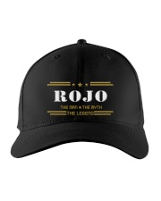 ROJO Embroidered Hat front