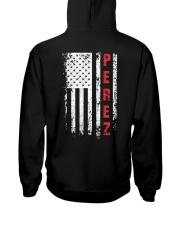PEREZ 01 Hooded Sweatshirt back