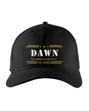 DAWN Embroidered Hat front