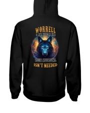 WORRELL Rule Hooded Sweatshirt back