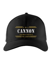 CANNON Embroidered Hat front