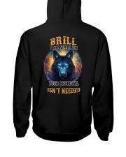 BRILL Rule Hooded Sweatshirt back