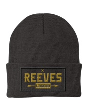 Reeves Legend Knit Beanie front