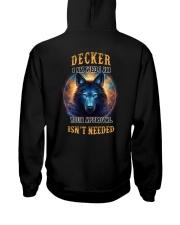DECKER Rule Hooded Sweatshirt back