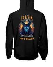 FORTIN Rule Hooded Sweatshirt back