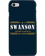 SWANSON Phone Case tile