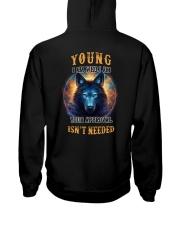 YOUNG Rule Hooded Sweatshirt back