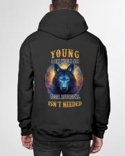 YOUNG Rule Hooded Sweatshirt garment-hooded-sweatshirt-back-01