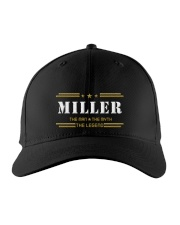 MILLER Embroidered Hat front