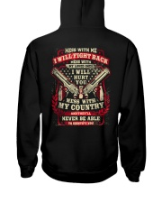 39 Gun Control Mess With Me Hooded Sweatshirt back