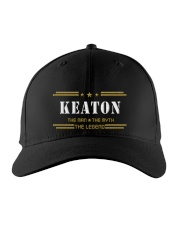 KEATON Embroidered Hat front