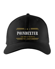 POINDEXTER Embroidered Hat front