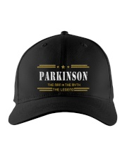 PARKINSON Embroidered Hat front