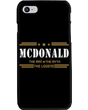 MCDONALD Phone Case thumbnail