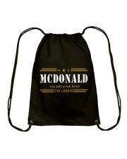MCDONALD Drawstring Bag thumbnail