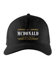 MCDONALD Embroidered Hat front