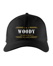 WOODY Embroidered Hat front