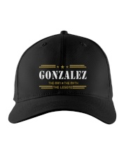 GONZALEZ Embroidered Hat front