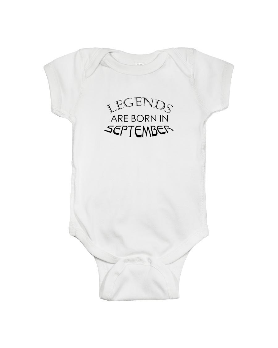 Legends are born in September Onesie