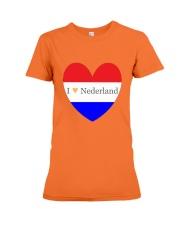 I love Nederland Premium Fit Ladies Tee front