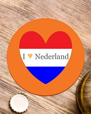 I love Nederland Circle Coaster aos-co