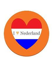 I love Nederland Circle Coaster front