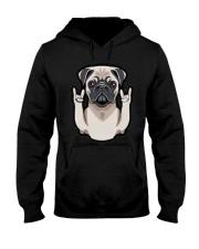 pug Dog 2019 Hooded Sweatshirt thumbnail