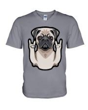 pug Dog 2019 V-Neck T-Shirt thumbnail