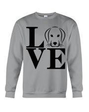 I Love my dog  Crewneck Sweatshirt thumbnail