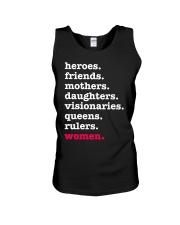 Heroes Friends Mothers Women Unisex Tank thumbnail