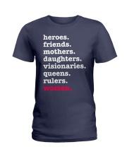 Heroes Friends Mothers Women Ladies T-Shirt front