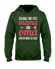 Grandma Baby Announcement Hooded Sweatshirt front