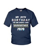 20th Birthday Quarantined Youth T-Shirt thumbnail