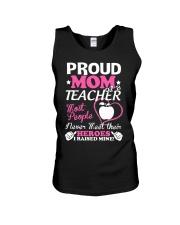 Proud Mom Of A Teacher Unisex Tank thumbnail