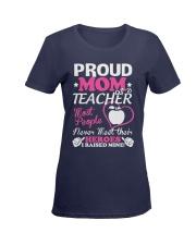 Proud Mom Of A Teacher Ladies T-Shirt women-premium-crewneck-shirt-front