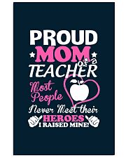 Proud Mom Of A Teacher 11x17 Poster thumbnail