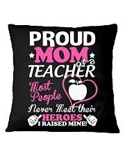 Proud Mom Of A Teacher Square Pillowcase thumbnail