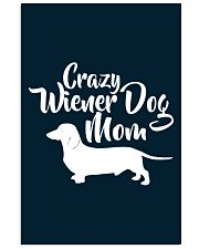 Dachshund Crazy Wiener Dog Mom 11x17 Poster thumbnail